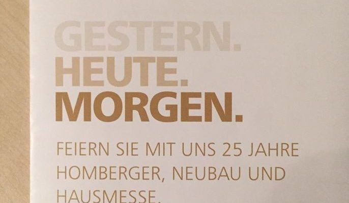 25 Jahre Firma Homberger In Eckolstädt