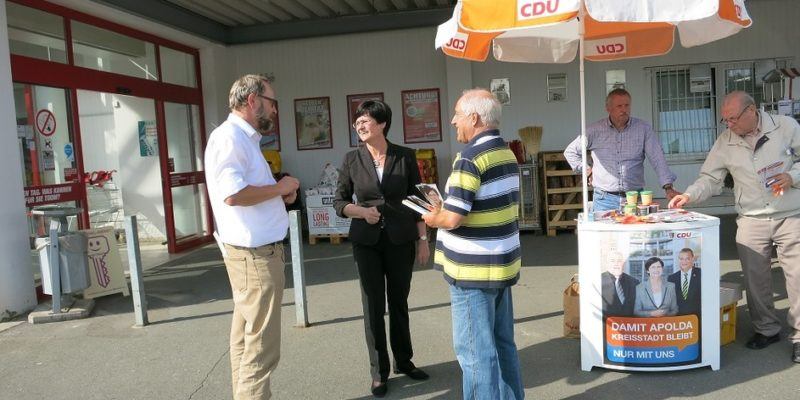 Canvassing In Apolda