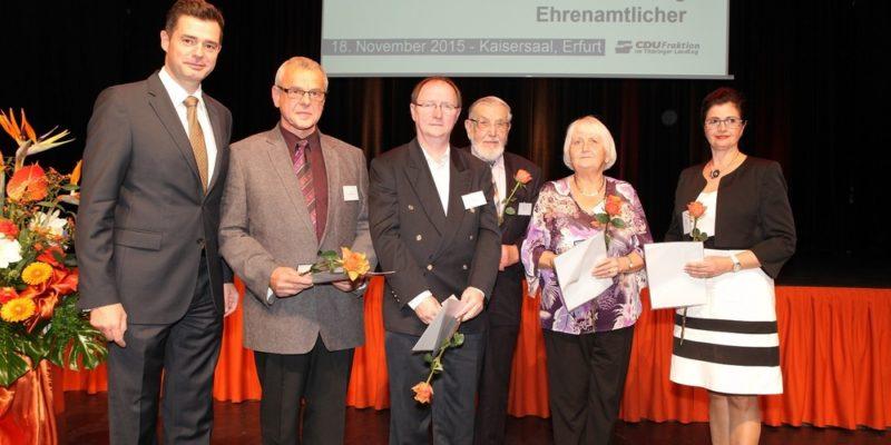 Ehrenamtsveranstaltung Der CDU Fraktion