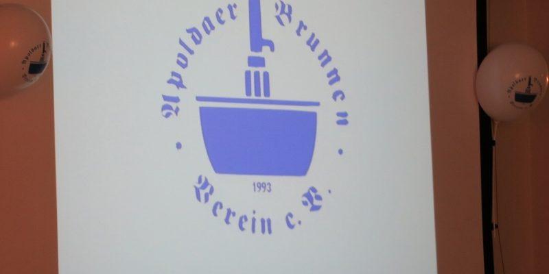 20jähriges Bestehen Des Apoldaer Brunnen Vereins E. V.