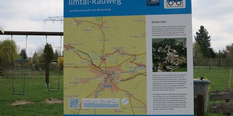"""14. Wahlkreiswanderung Unter Dem Motto. """" """"Apolda's Satelitten Und Das Elefantendorf"""" 17. Und 18. April 2015"""